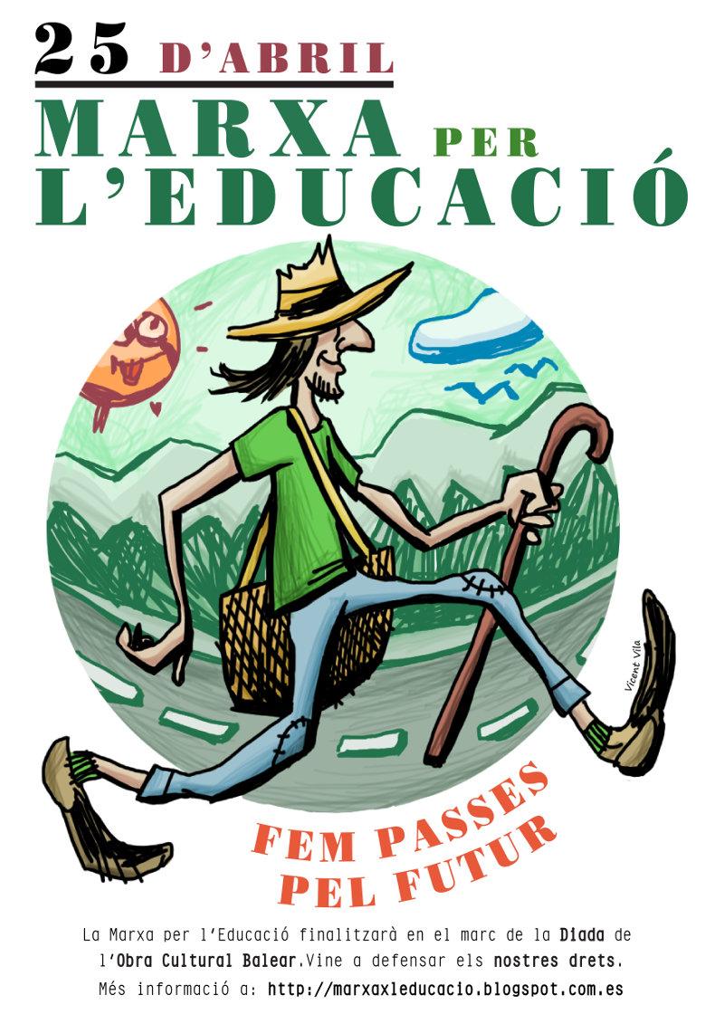 Marxa per l'Educació (25-04-15)