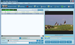 Download gratis CUDA Video Converter full version
