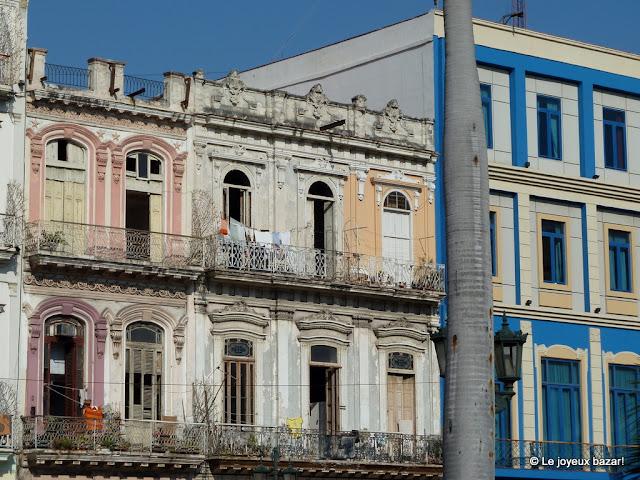 La Havane  - contrastes