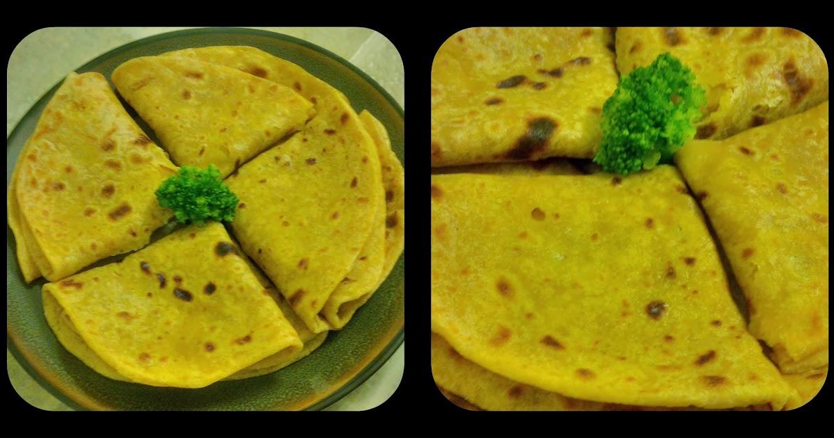 Kaleidoscopic Dream : Aloo Paratha (Potato stuffed flatbread)