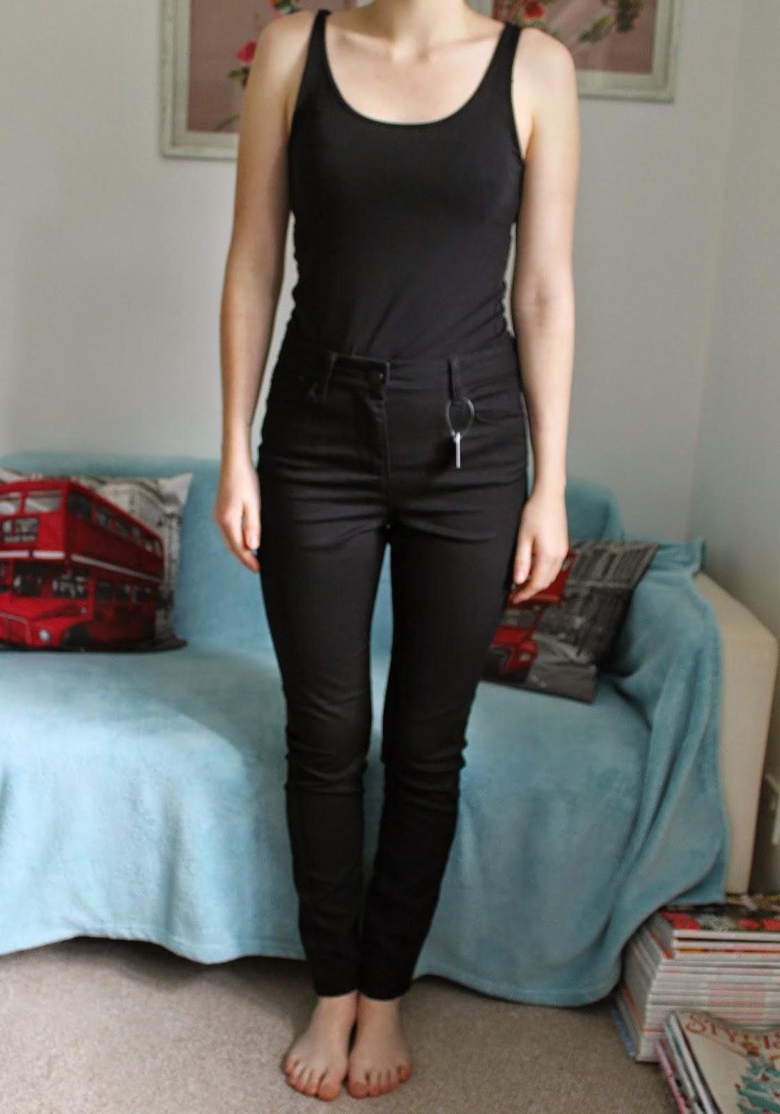 Marks and Spencer Black Skinny Jeans