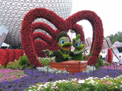 Epcot International Flower &amp; Garden Festival 2013