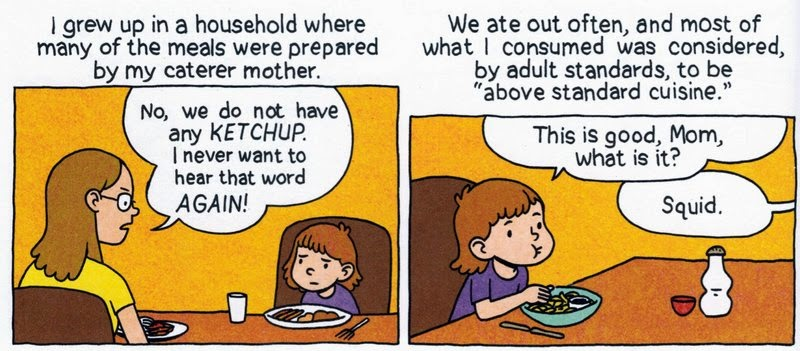 The Comics Bin Relish My Life In The Kitchen By Lucy Knisley