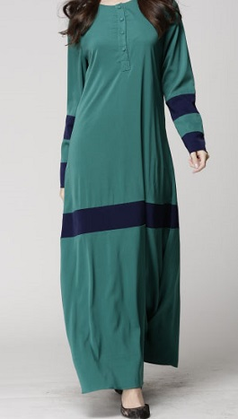 NBH0464 IRDINA JUBAH ( NURSING FRIENDLY)