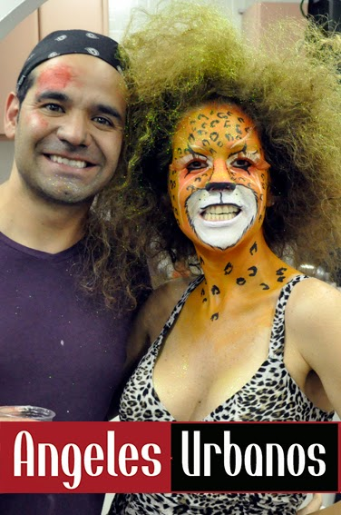 Face Painting Jaguar