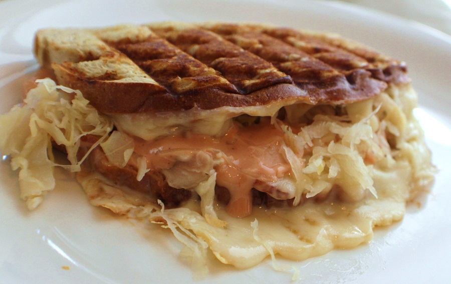 ... Style Cuisine: Low Fat Turkey Mock Reuben Sandwich Recipe and Video