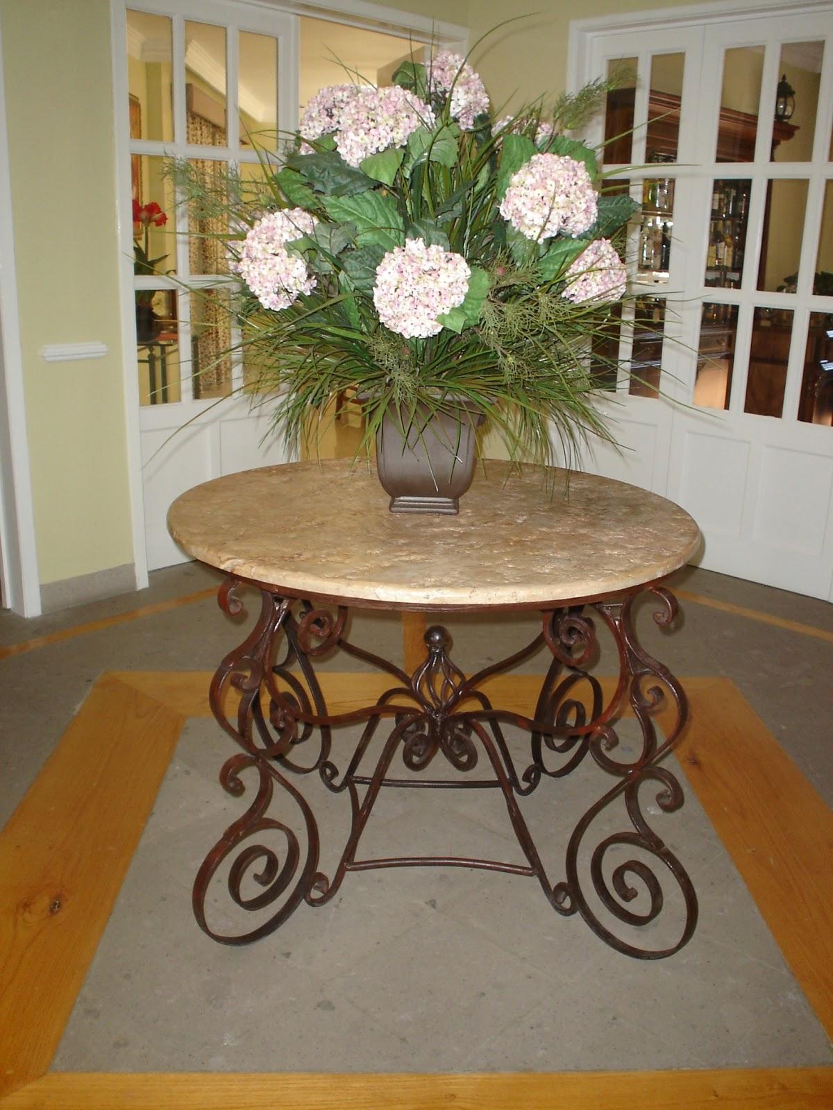 Fotos de muebles de hierro forjado for Mesa cocina tenerife
