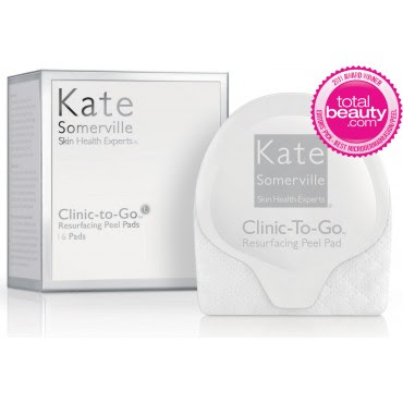 Kate Somerville, Kate Somerville skincare, Kate Somerville skin care, Kate Somerville Clinic-To-Go Resurfacing Peel Pads, exfoliate, exfoliator, peel, skin peel, resurfacing peel, skin, skincare, skin care