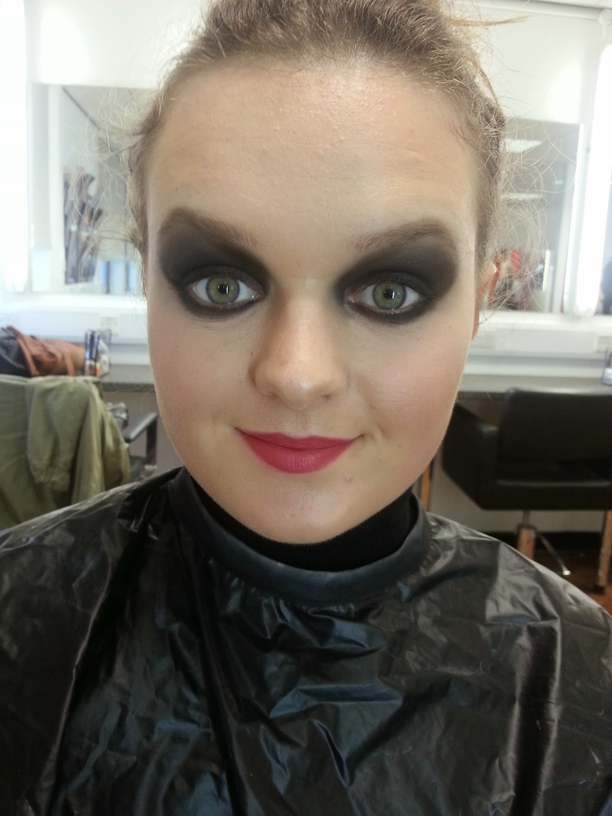 Make Up And Hair Technical File Dark Eyes And Lips