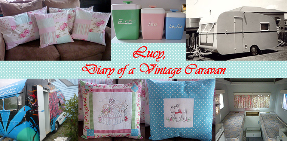 Lucy, Diary of a Vintage Caravan