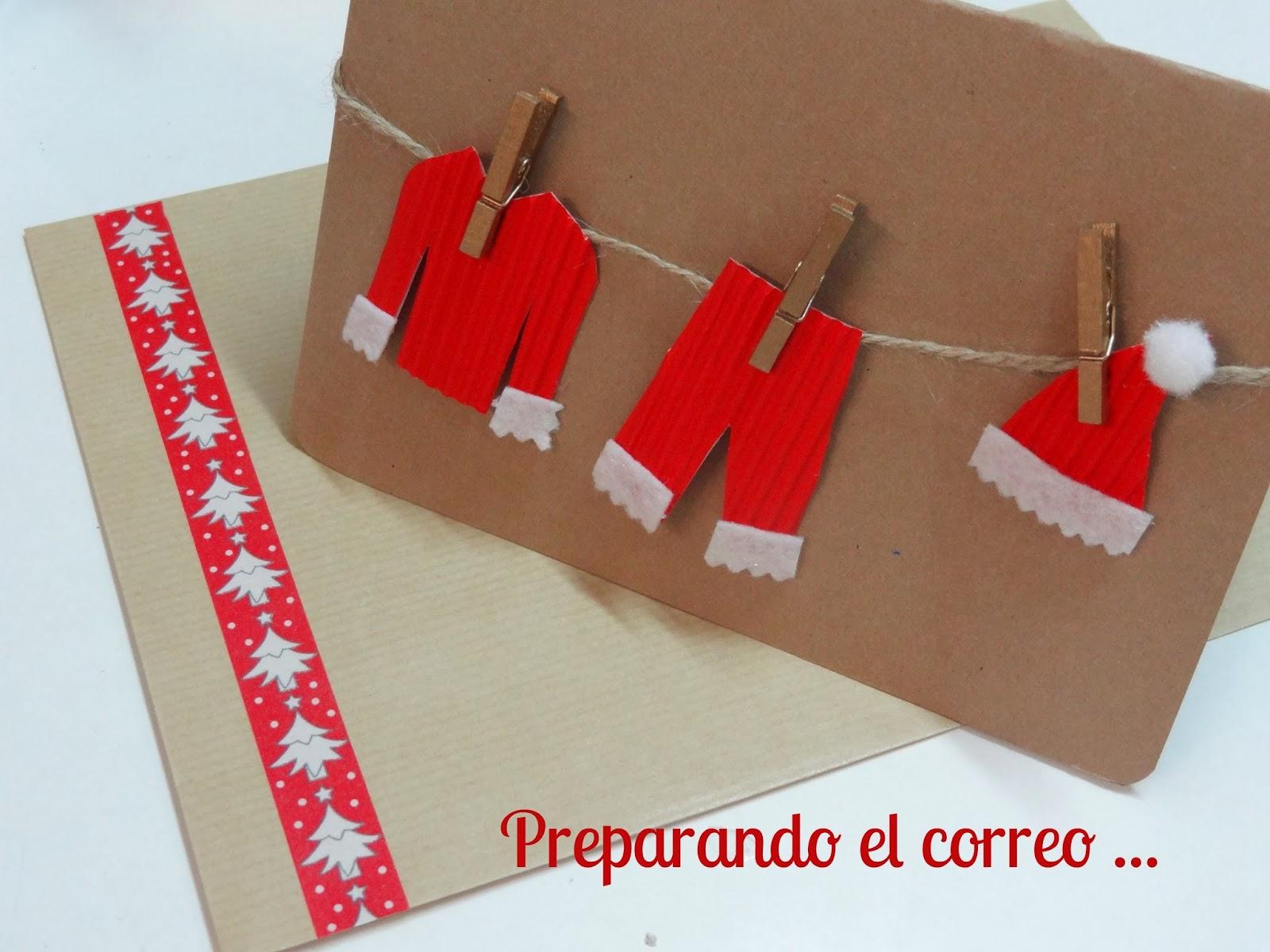 Celebra con ana compartiendo experiencias creativas - Hacer tarjetas de navidad originales ...