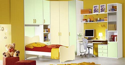 Lindas habitaciones amarillas para chicas teens buenas - Habitaciones amarillas ...