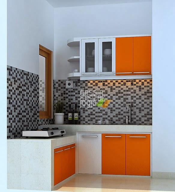 Desain Dapur Minimalis Finishing Hpl Karya Desain Arsitek Jogja