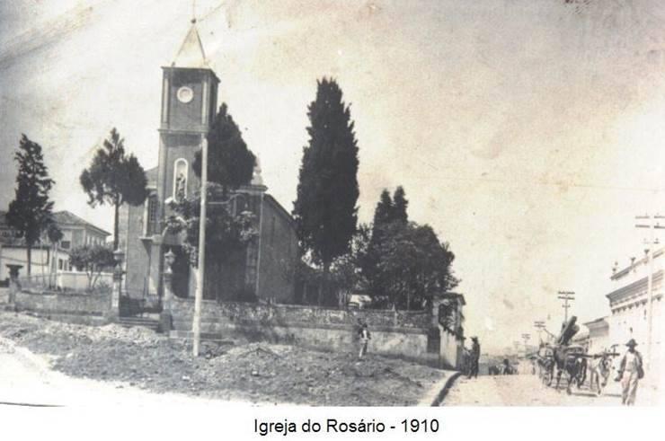 Igreja do Rosário de Barbacena MG 1910
