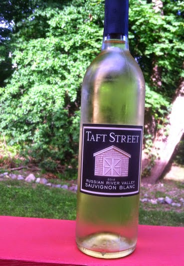 Taft Street Sauvignon Blanc. Cooking Chat Wine Pairing Weekend  selection.
