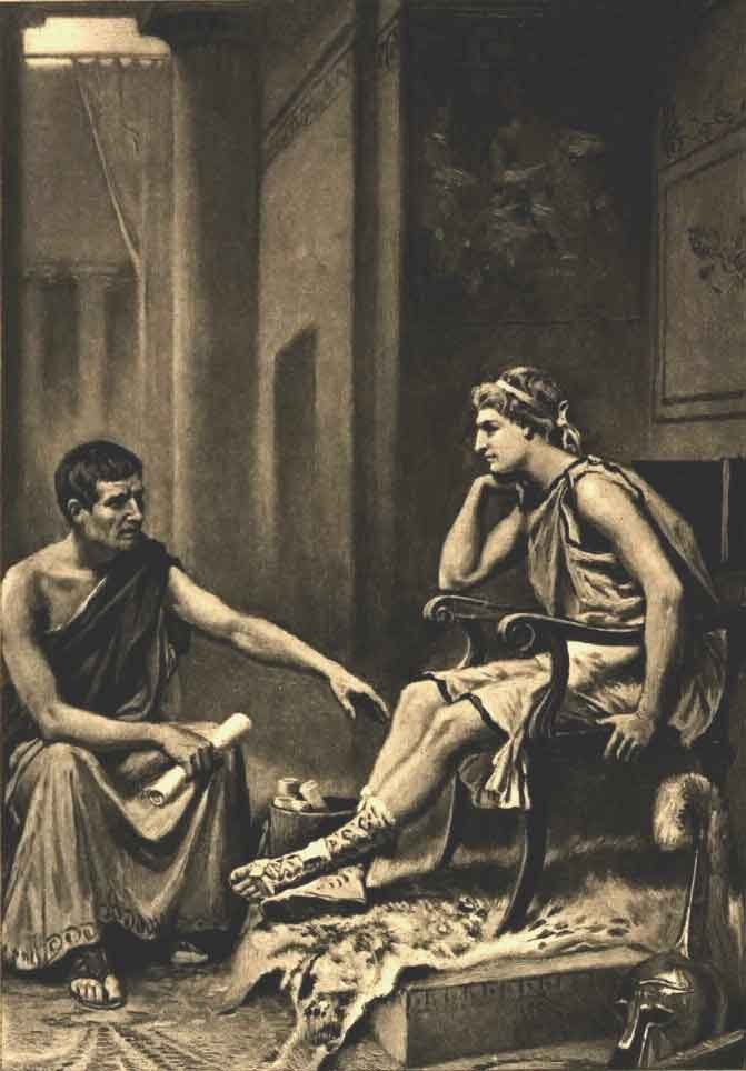 a view of the political ideals of aristotle Although a good citizen is a good person, on aristotle's view, the good person can be good even independently of the society political theory previous.