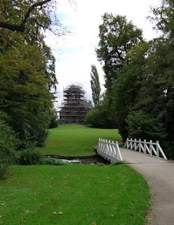 Merkurtempel im Schwetzinger Schlossgarten