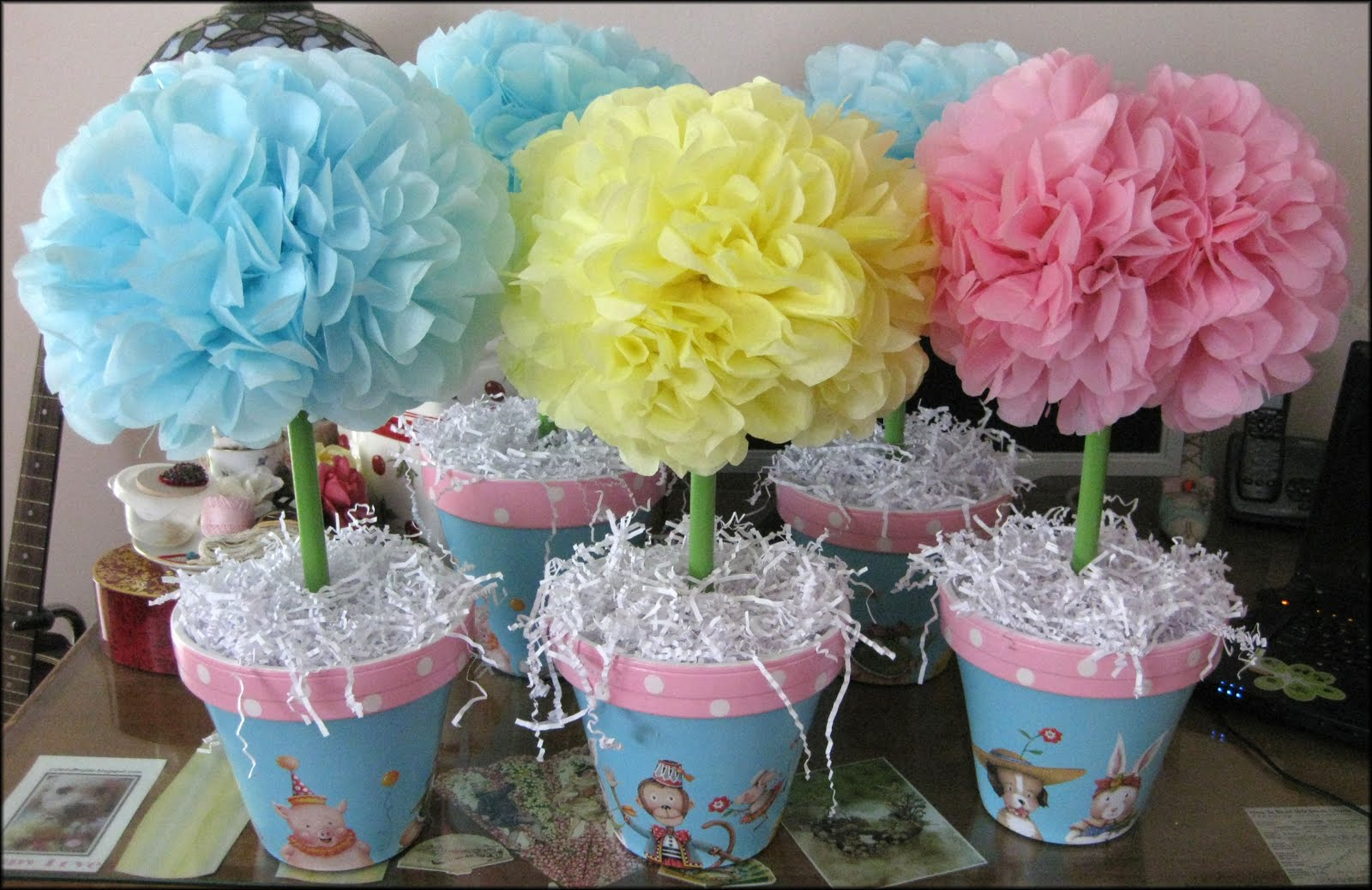 Cute stuff inside ooh baby baby for Baby shower decoration centerpieces