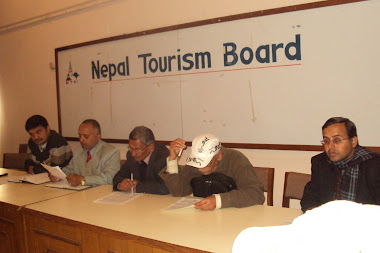 Press Conference in Tourism Board
