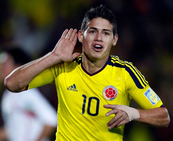 Galerry hairstyle james rodriguez