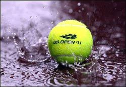 Furacão Irene em Nova York US Open de tênis 2011