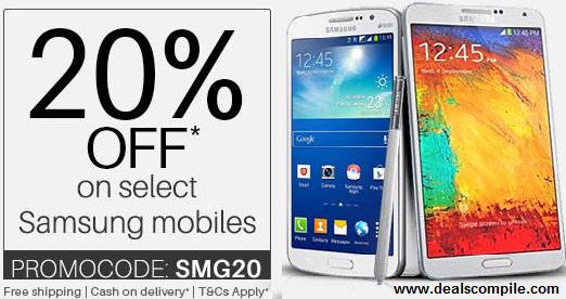 Samsung Mobiles Extra upto Rs. 9000 Cashback – PayTm