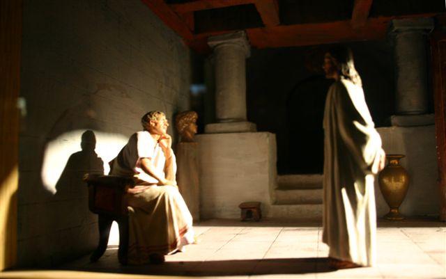 LA PASSION CORPORELLE DE JÉSUS (Pierre BARBET) Jesus_ante_Pilatos