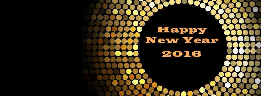 New Year Facebook Cover Page