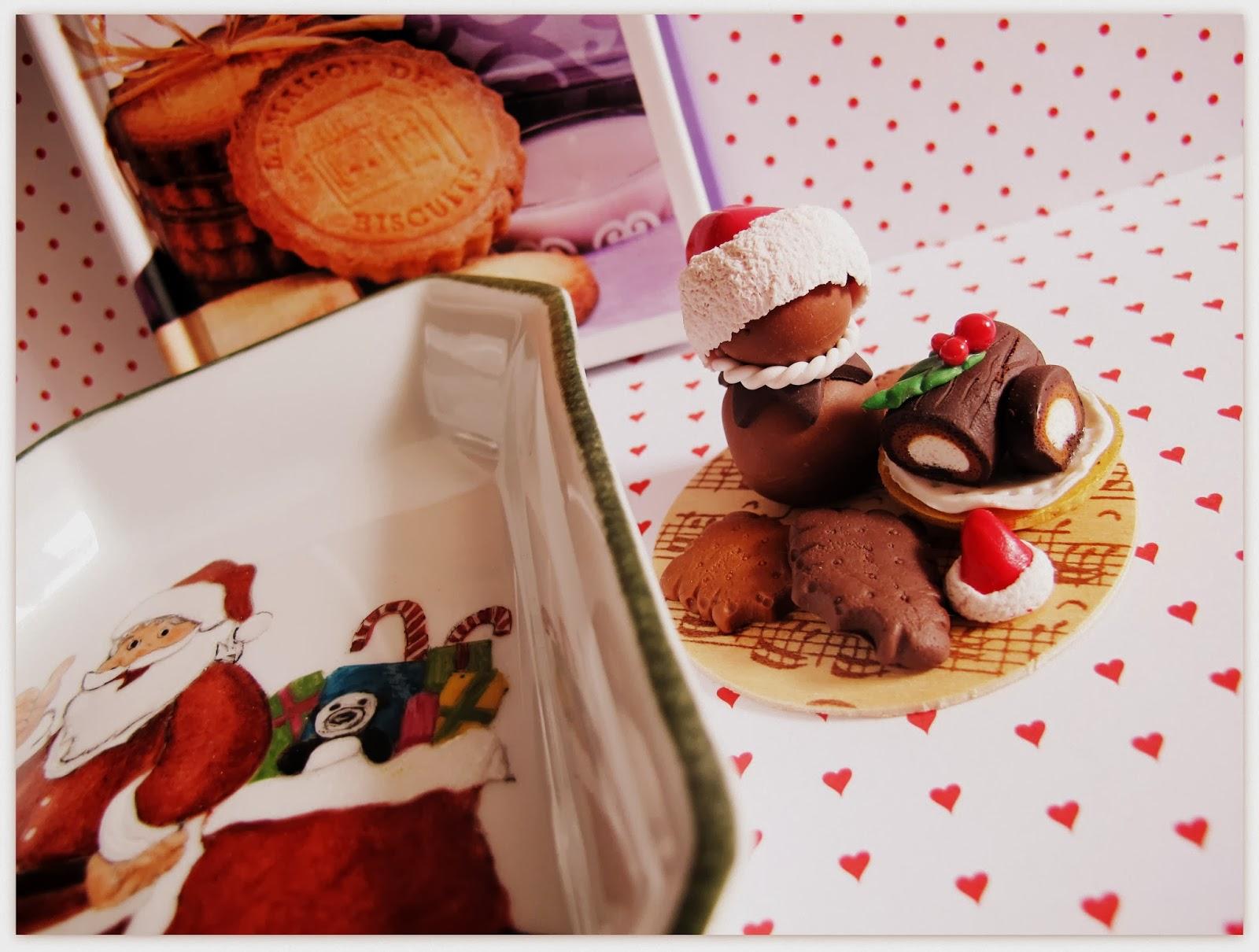 #AF351C MA PETITE PLANETE: Pâte Fimo : Décor De Table De Noël 6181 decoration de table de noel en pate fimo 1600x1210 px @ aertt.com