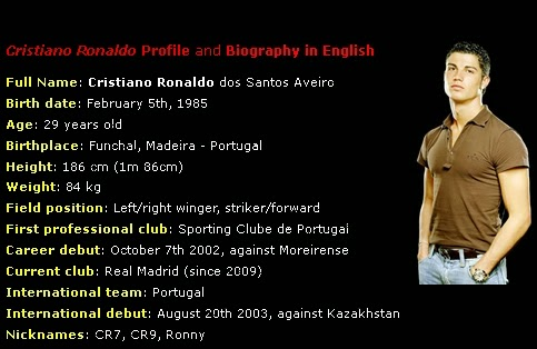 cristiano ronaldo essay 2017-9-11 a free esl lesson plan on cristiano ronaldo biography / profile online quiz and mp3 listening on this famous person.