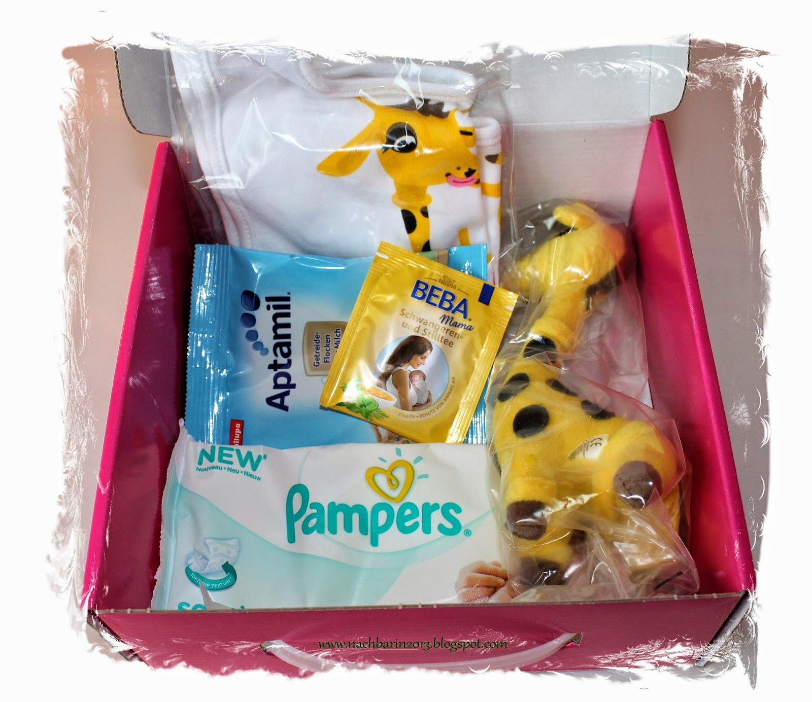 pampers gratis box