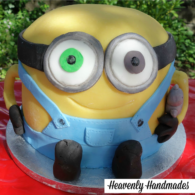 Minion Bob Birthday Cake Heavenly Handmades