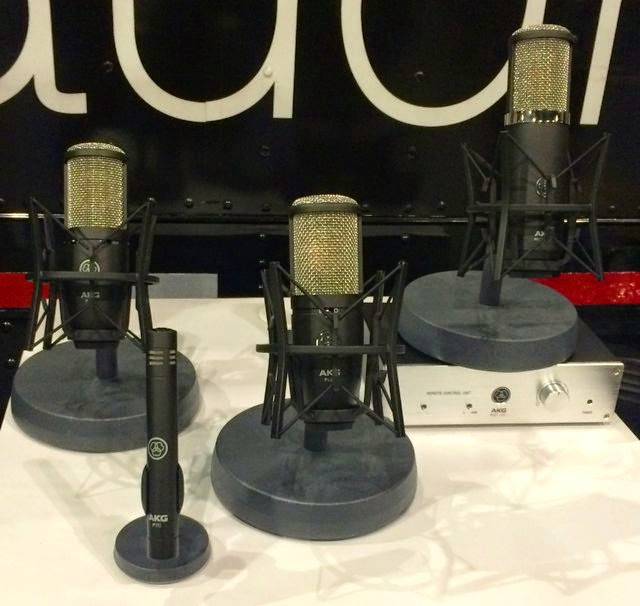 AKG Perception mics