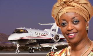 Diezani Alison-Madueke and her jet