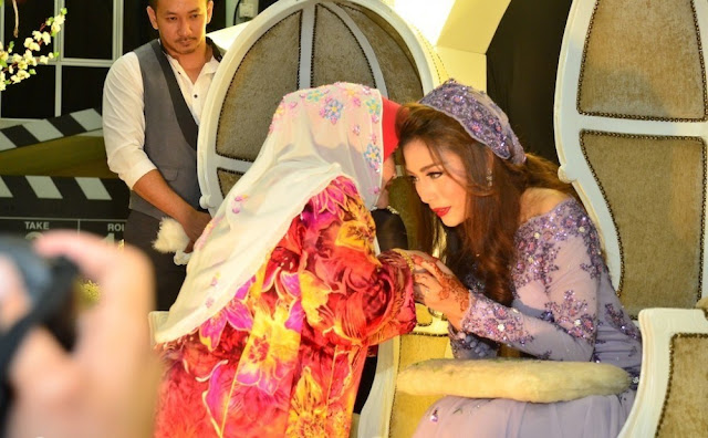 gambar majlis perkahwinan linda hashim & beego , linda hashim & beego  kahwin,majlis resepsi linda hashim & beego.ini blog heirizalieyana,pengantin linda hashim