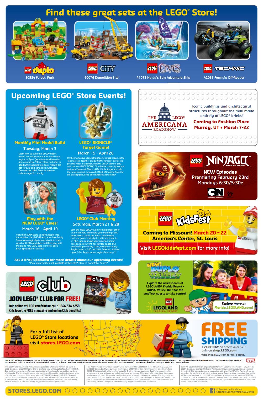 lego march 2015 calendar
