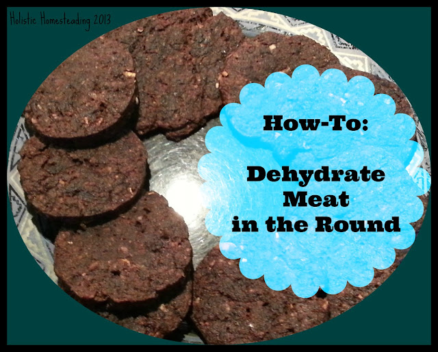 dehydrate meat recipe