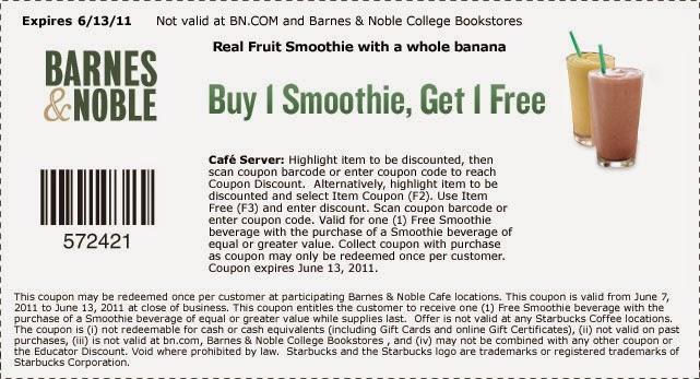 Barnes and noble coupon september 2018 online