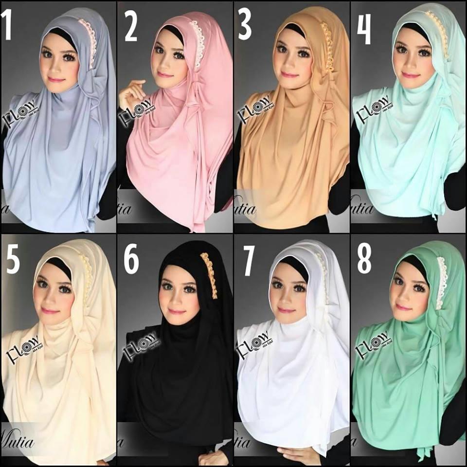 Jilbab instant modis premium quality