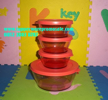 Clear Bowl Set (4) Rp 290.000