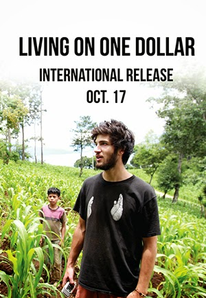 Living on One Dollar 2013 poster
