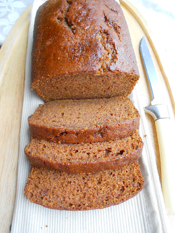 Confessions of a Confectionista: Cinnamon and Spice Sweet Potato Bread