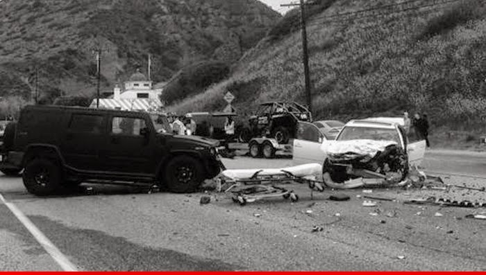 Bruce Jenner Car Accident Results
