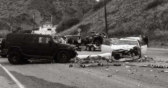 Bruce Jenner Car Accident Scandle