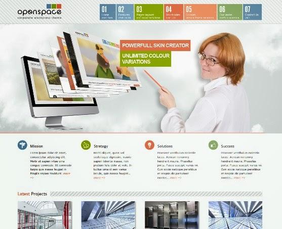 OpenSpace Responsive Multipurpose WordPress Theme