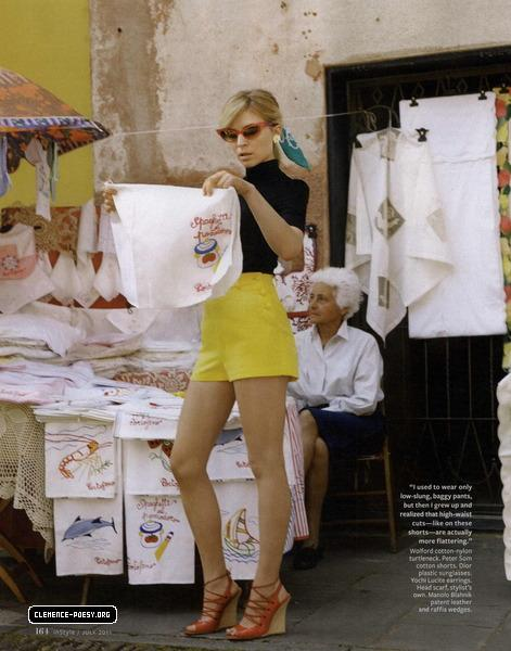 Clemence Poesy nstyle