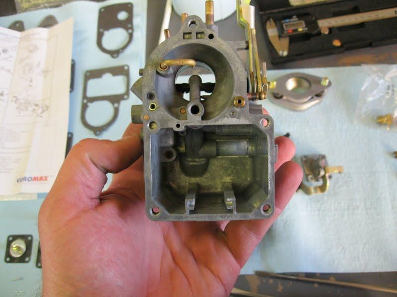 the bug boys rebuilding a solex h 30 31 carb for the baja part 2 rh noslocars blogspot com VW Solex 34 Pict Carb Main Jet Location On A Solex 30 31 Pict Manual