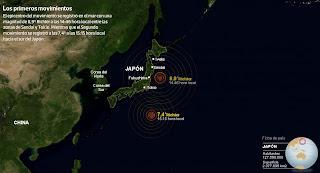 terremoto en japon 11 Marzo 2011