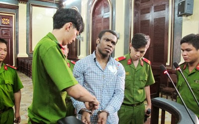 nigerian man executed vietnam