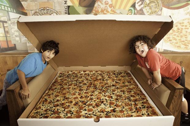 verdens største pizza